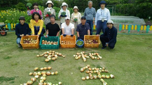 収穫祭の様子